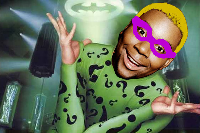 Kenan Thompson is The Riddler