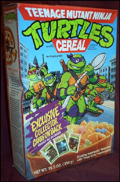 Teenage Mutant Ninja Turtles Cereal